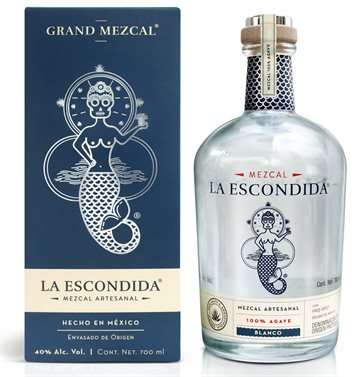 La Escondida Grand Mezcal Blanco 40% 70 cl.