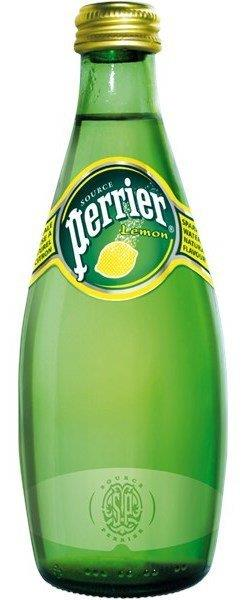 Perrier Mineralvand Lemon m . Brus 33 cl