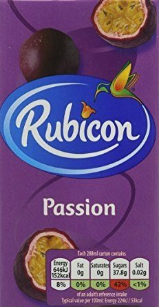 Rubicon Passion Juice 12x100 cl.