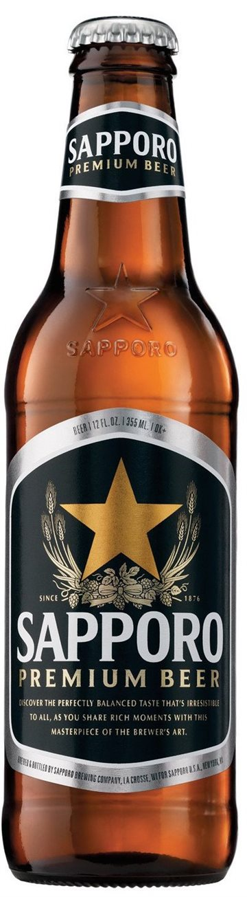Sapporo Pilsner 4,7% 33 cl