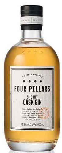 Four Pillars Sherry Cask Gin 43,8% 50 cl.