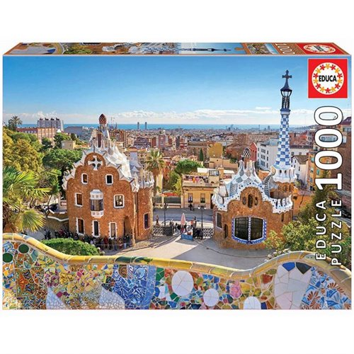 Educa 1000 Barcelona View FOM Park Guell puslespil
