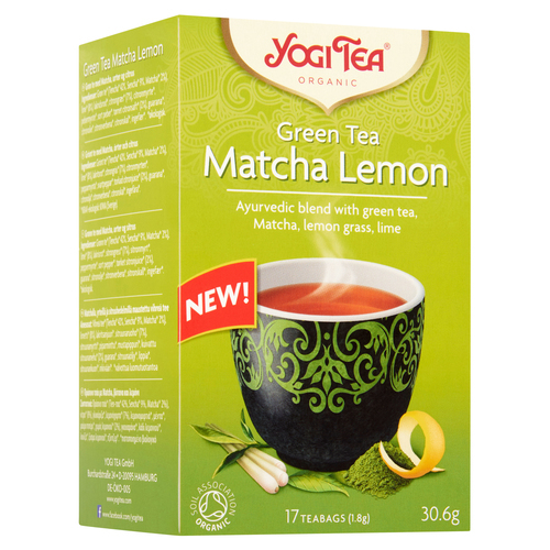 Yogi Tea Green Matcha Lemon 17 stk