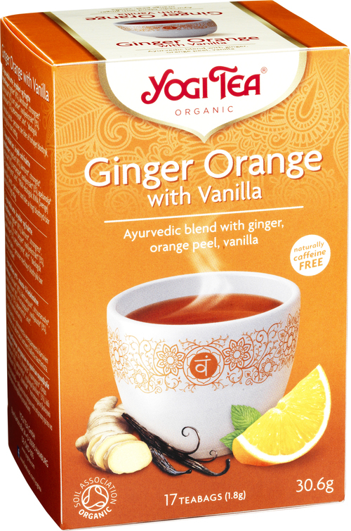 Yogi Tea Ginger Orange with Vanilla 17 stk