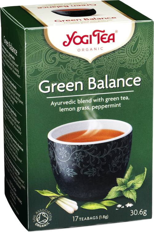 Yogi Tea Green Balance 17 stk