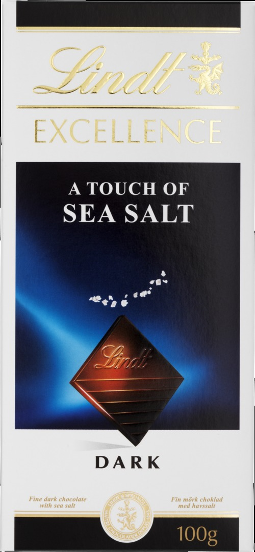 Lindt Excellence A touch of Sea Salt 100 g