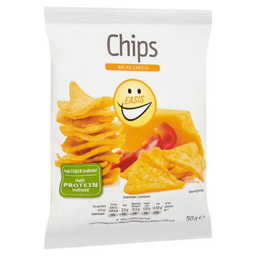 EASIS Chips Nacho Cheese 50 g