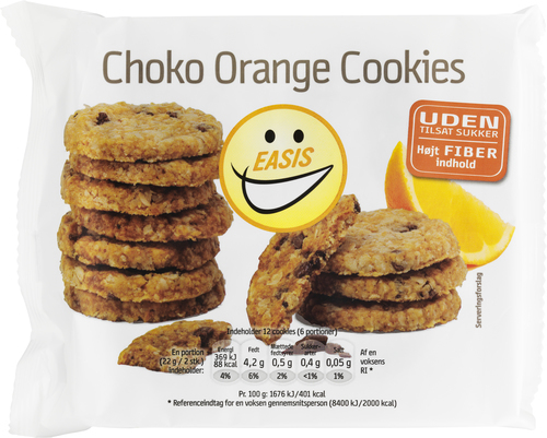 EASIS Choco Orange Cookies 132 g