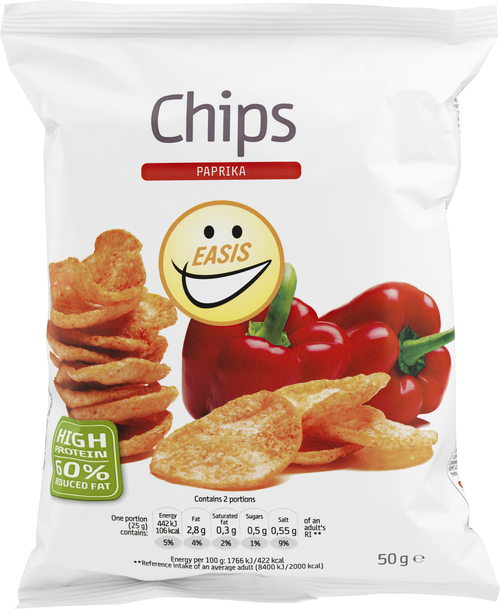 EASIS Chips Paprika 50 g