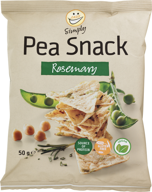 EASIS Simply Pea Snack Rosemary 50 g