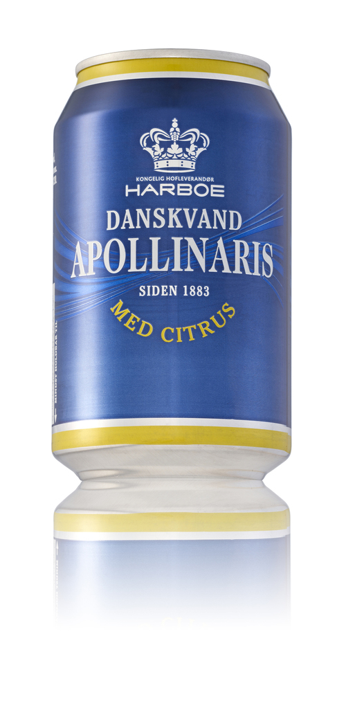Harboe  Harboe Apollinaris m/citrus 33cl ds 0,33 l