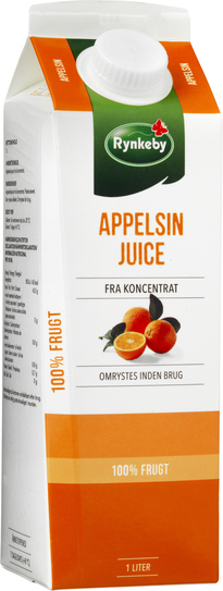 Rynkeby Professionel Appelsin Juice 1 l