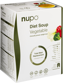 Nupo Diet Soup - Vegetable 384 g