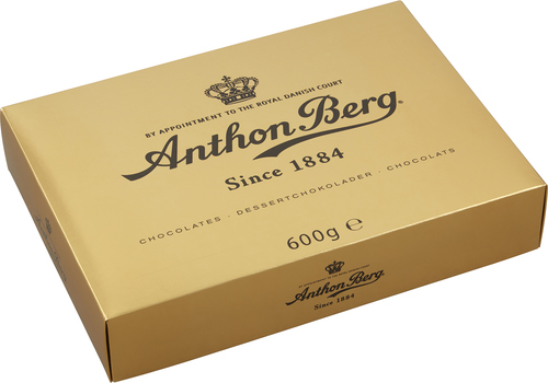 Anthon Berg Luxury Gold 600 g