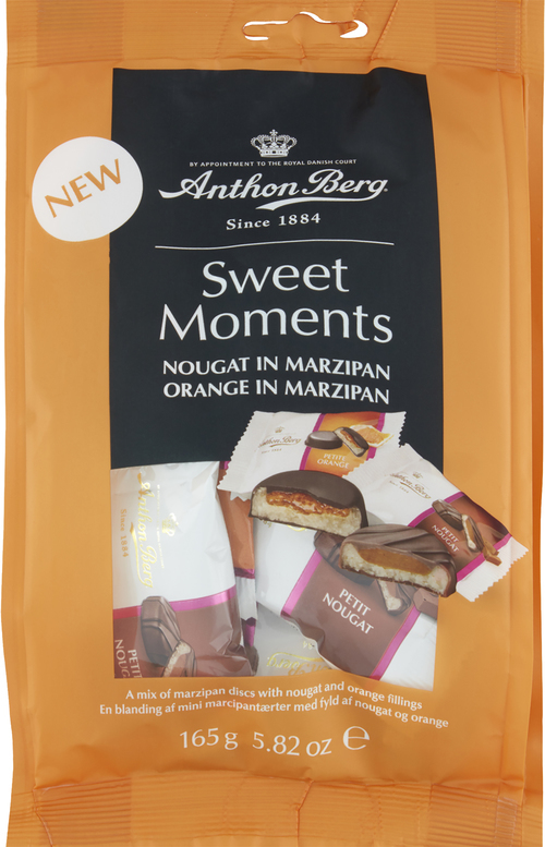 Anthon Berg SWM Noug. and Orange in Marzipan 165 g