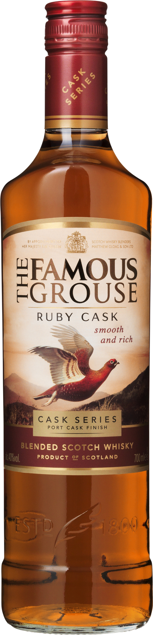Famous Grouse whisky Ruby Cask 0,7 l