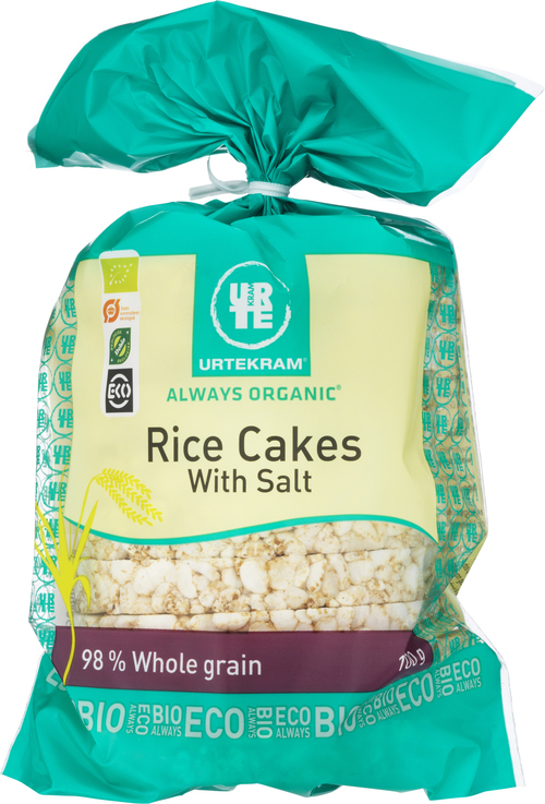 URTEKRAM Rice Cakes With Salt 100 g