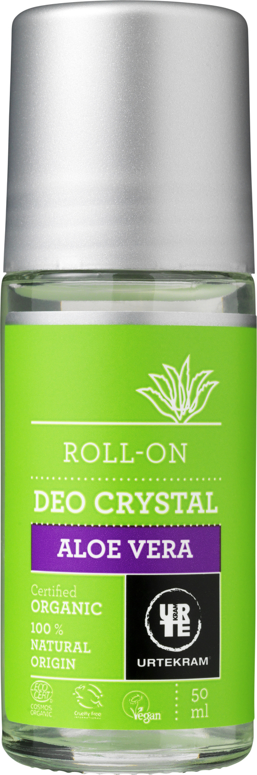 URTEKRAM Roll-on Deo Crystal Aloe Vera 0,05 l