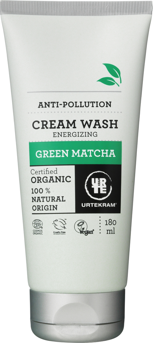 URTEKRAM Green Matcha Cream Wash 0,18 l