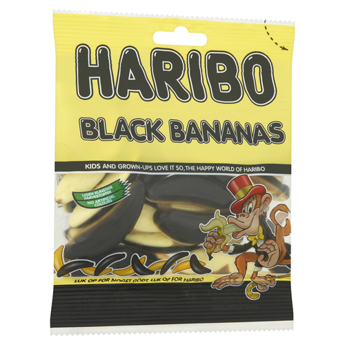 Haribo Black Bananas 120 g