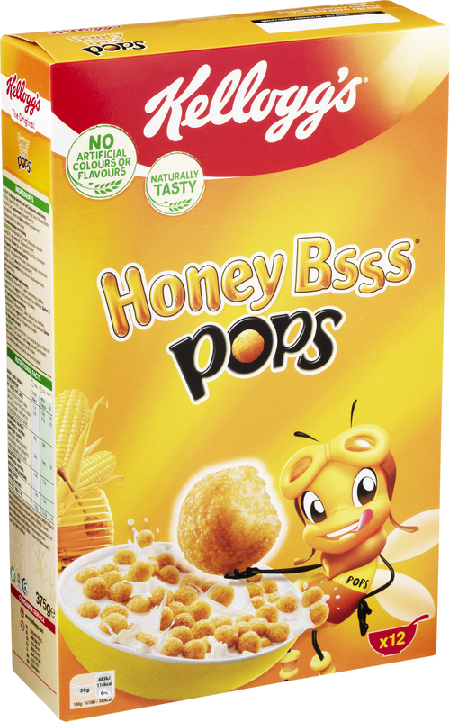 KELLOGG´S Honey Bsss Pops 375 g