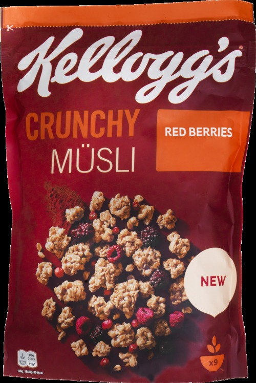 KELLOGG'S Crunchy Müsli Red Berries 425 g