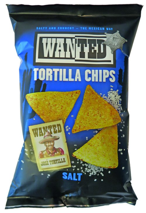 Wanted Tortilla Chips Salt 200g