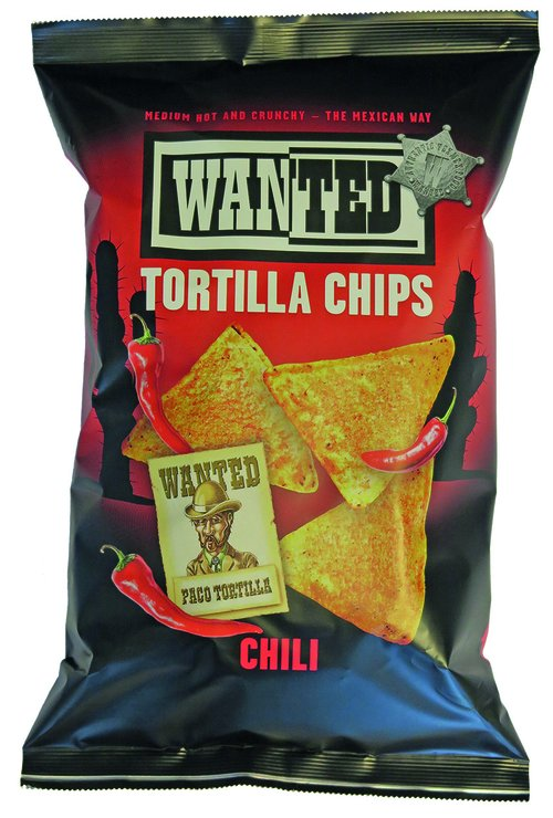 Wanted Tortilla Chips Chili 200g