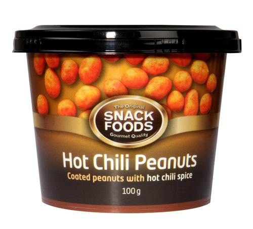 SF Cup Chili Peanuts 100g