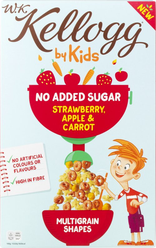 KELLOGG Strawberry, Apple, Carrot 300 g