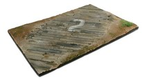 WITTMAX Scenics Diorama Bases 31x21 Wooden airfield surfac