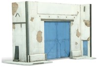 WITTMAX Scenics Diorama Bases 31x16x20 Factory Facade