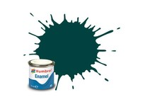 Humbrol Enamel Emaljemaling Gloss 14 Ml British Racing Green
