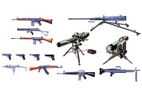 Italeri Modern Light Weapon Set