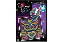 HOBBY2YOU Diamond Art 20x20cm Owl