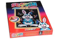 HOBBY2YOU Sequin Art Binky the Bunny 25x34cm