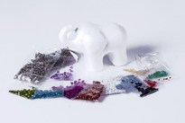 HOBBY2YOU Sequin Art 3D Elephant H:11m