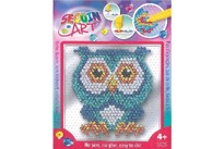 Sequin Art Easy Owl 17x17cm