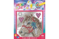 Sequin Art Easy Horse 17x17cm