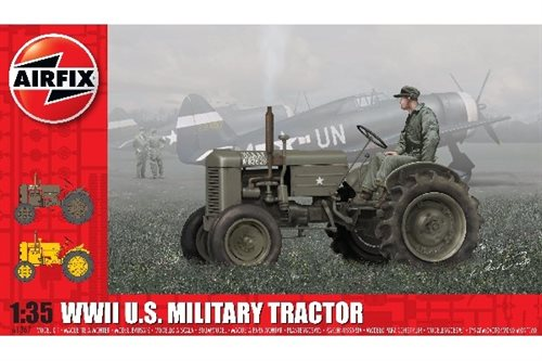 1:35 WWII U.S. Military Tractor