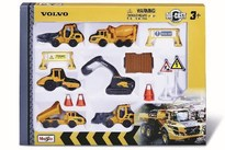 TOYMAX Construction set Volvo 3'' 6pcs incl. accessories