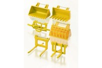 TOYMAX Front loader accessories set