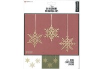 HOBBY2YOU Traditional X-Mas Snowflakes 9pcs