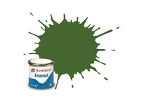 Humbrol Enamel Emaljemaling Matt 14 Ml Deck Green