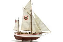 WITTMAX 1:15 Colin Archer RC -  -Wooden hull
