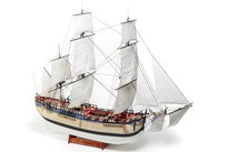 WITTMAX 1:50 HMS Endeavour  -Wooden hull