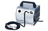 WITTMAX Airbrush compressor with air hose and mini filter