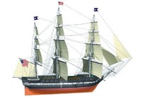 WITTMAX 1:75 USS Constitution -Wooden hull