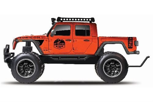 MAISTO R/C Jeep Gladiator R/C 2,4Ghz Lion, orange 1:6