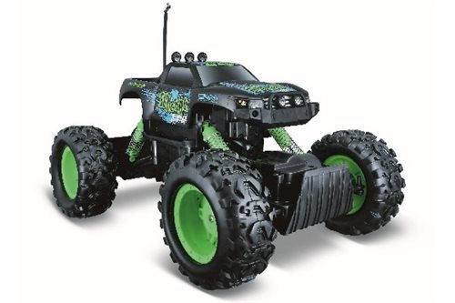 Maisto R/c Rock Crawler Off Road R/c 27mhz Green/black